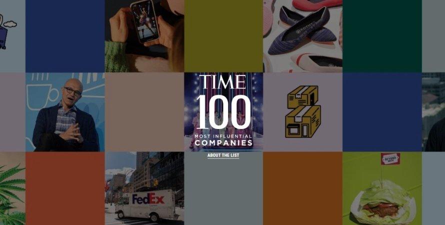 Time, журнал, компании, влиятельность, рейтинг,