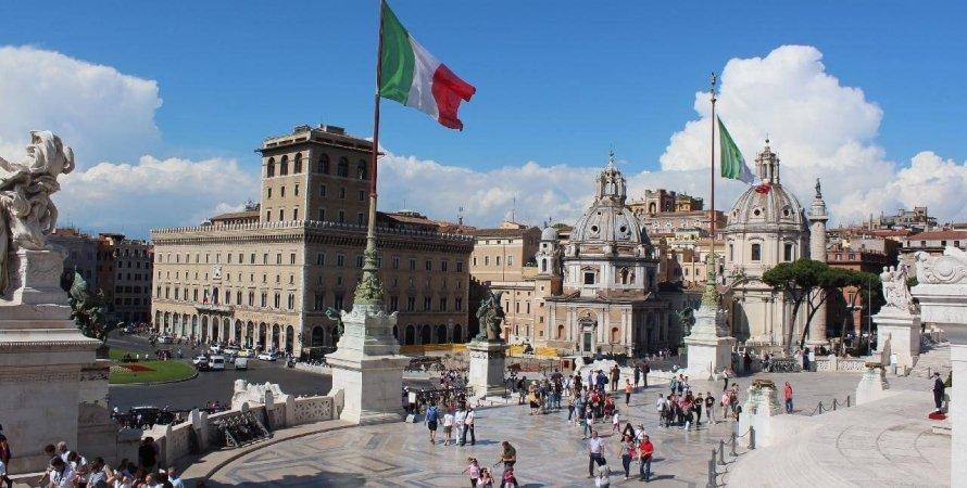 в'їзд до Італії