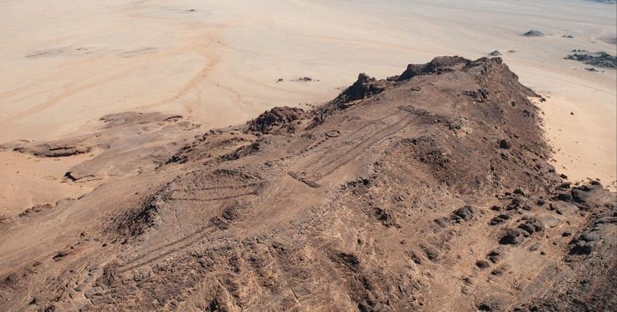 мустатилы, Саудовская Аравия, место жертвоприношения