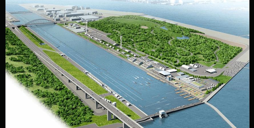 водный стадион, токио, Sea Forest Waterway