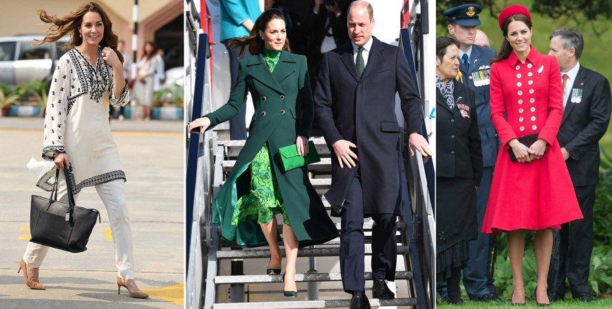 Официальные зарубежные визиты герцогов Кембриджских