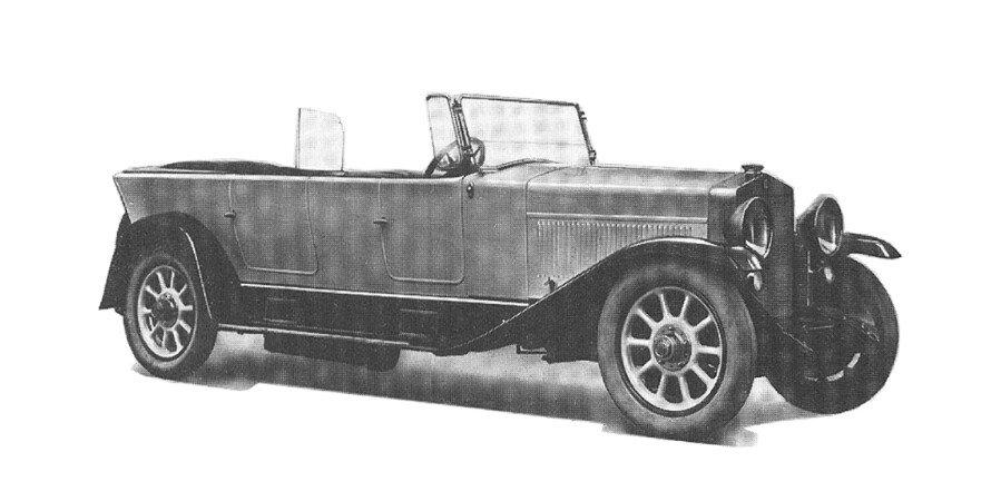 """1921 Fiat 520 """"Superfiat"""