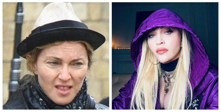 Мадонна, фото, фотошоп