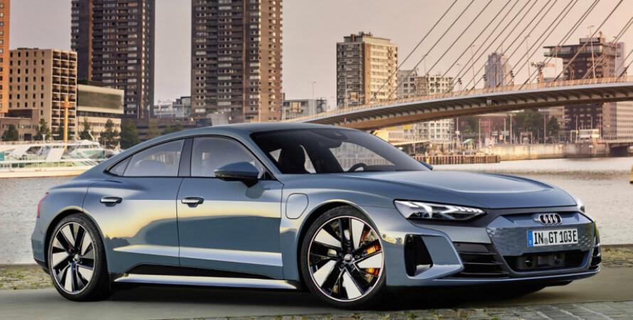 электромобиль, ауди, фото, e-tron GT, внешний вид