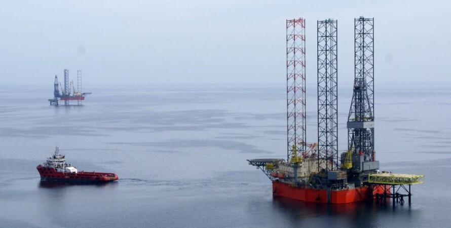 газ, море, черное море, добыча газа, крым