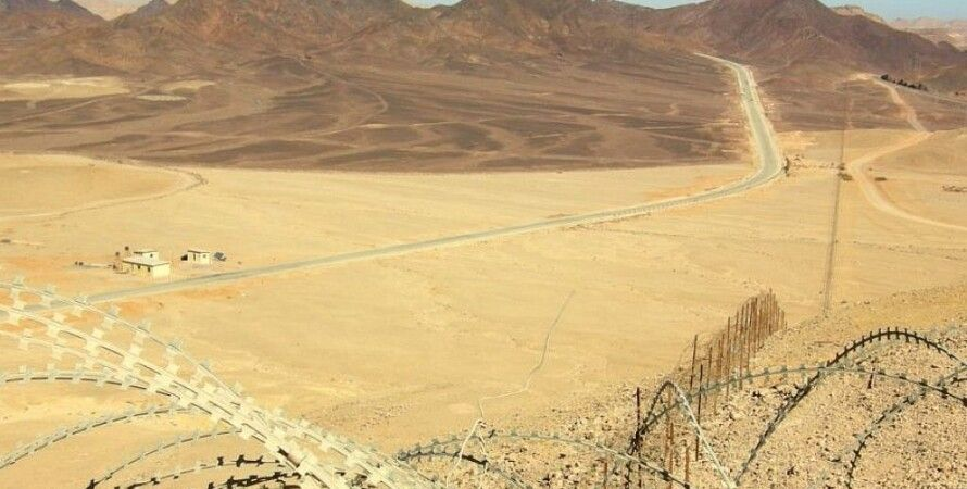Граница Израиля и Египта на Синайском полуострове