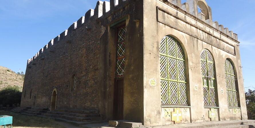 Церковь Марии Сионской в Аксуме. Wikipedia