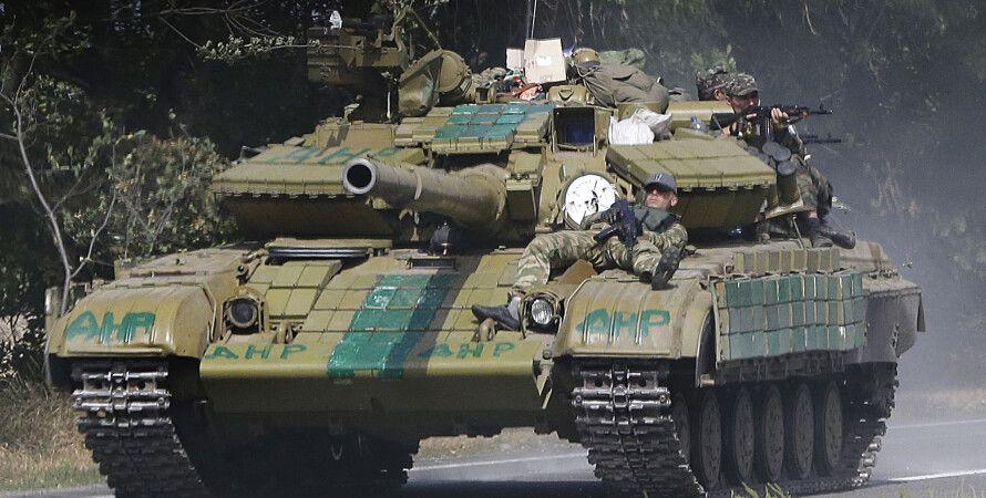 Боевики в Донбассе / Sergei Grits, AP Photo