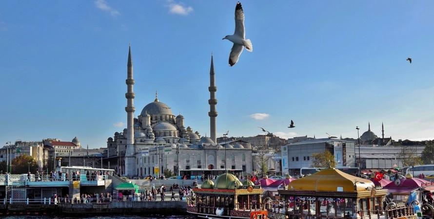Турция, Стамбул, туристы,