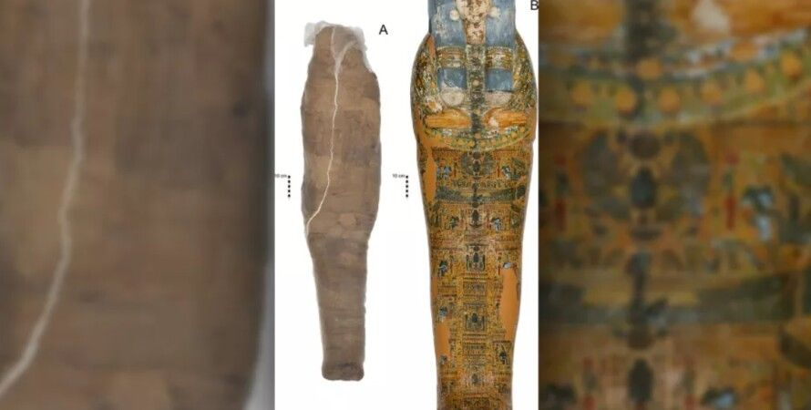 мумия, грязь, Древний Египет