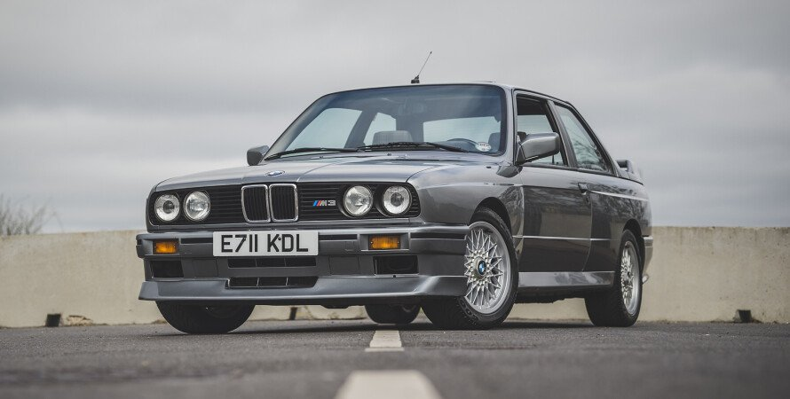 BMW M3 EVO2, BMW M3 Evolution II, BMW M3 E30 аукцион, BMW M3 E30 Великобритания