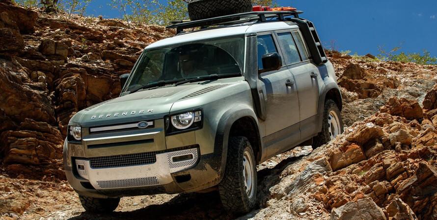 Тест-драйв нового Land Rover Defender