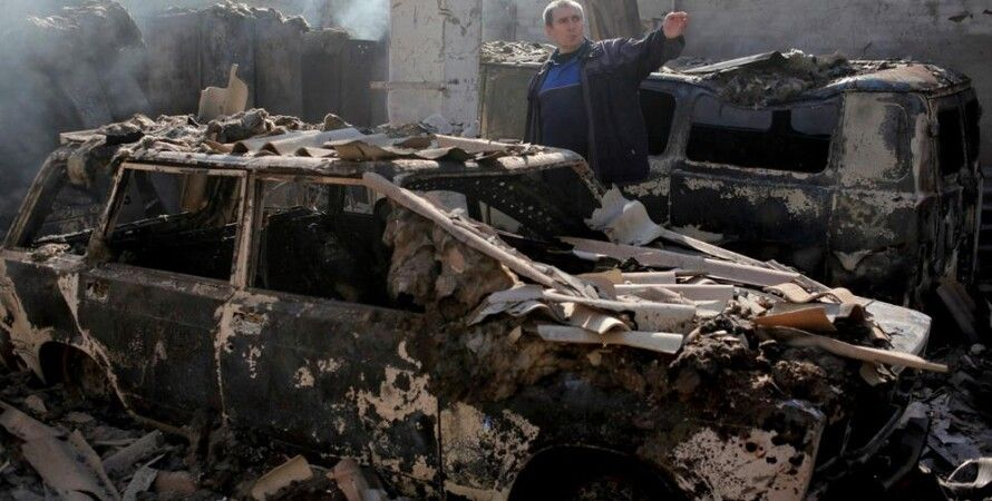 Последствия обстрела Попасной 25 января / Фото: Петро Задорожний