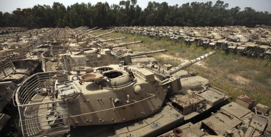 Американская бронетехника в Афганистане / Фото из открытого источника