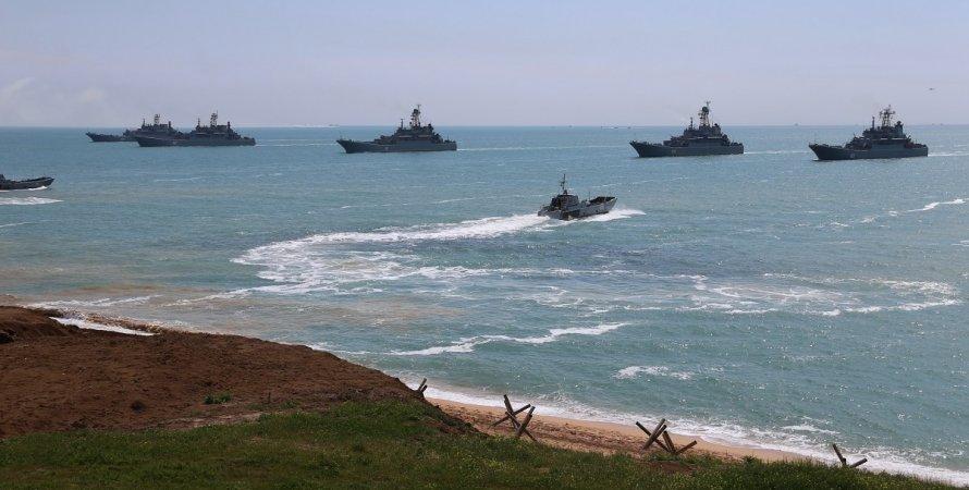 россия, десантные корабли, крым, фото