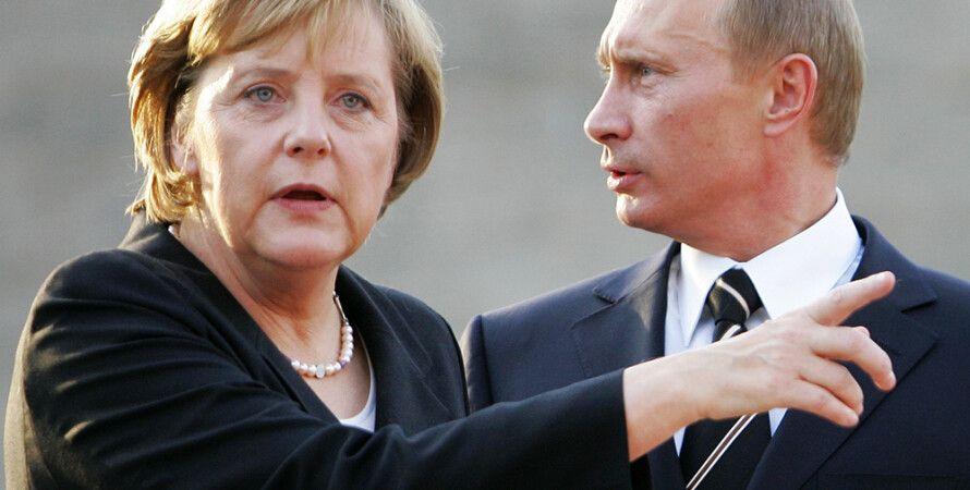 Ангела Меркель и Владимир Путин / Фото: gazeta.ru