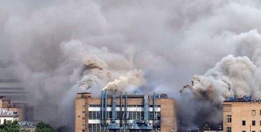 Пожар в Москве / Фото: кадр из видео Youtube