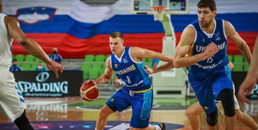 Баскетбол, Евробаскет, Сборная Украины, Сборная Австрии