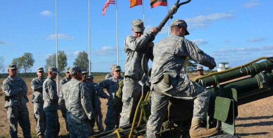Учения НАТО в Литве / Фото пресс-службы Минобороны Литвы