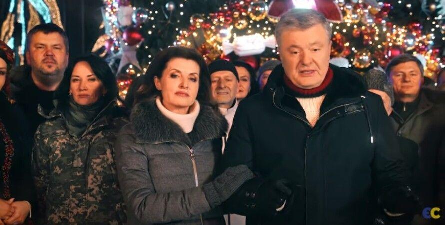 Петр Порошенко, новогоднее поздравление