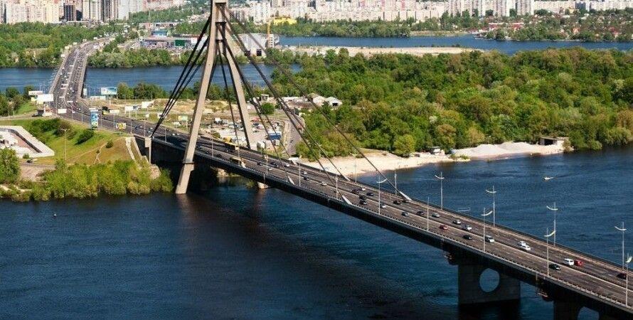 Московский мост в Киеве / Фото: broke-msc.livejournal.com