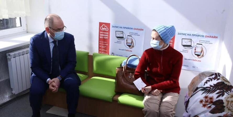 Максим Степанов, лікування, хворі, стаціонарне лікування, коронавірус в Україні, лікування коронавируса
