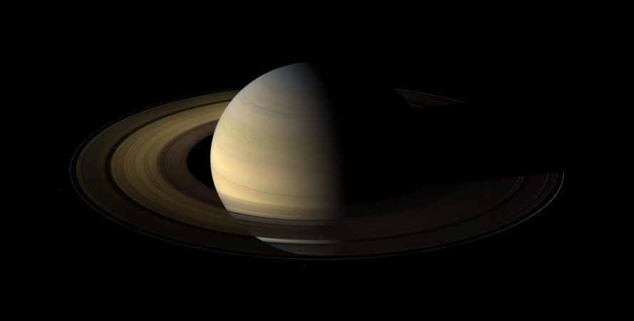 Сатурн, кільця, космос, фото