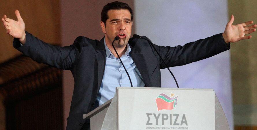 Алексис Ципрас, лидер СИРИЗА / фото Getty