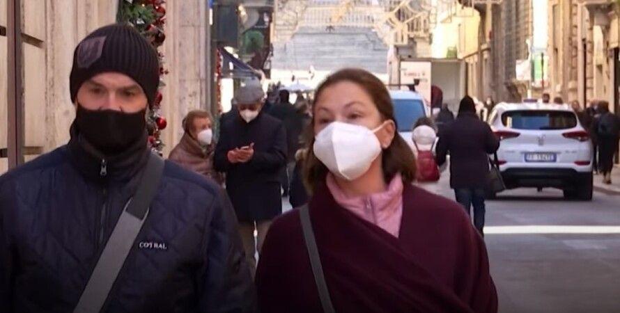коронавирус, Европа, новый год, праздники, пандемия, вспышка