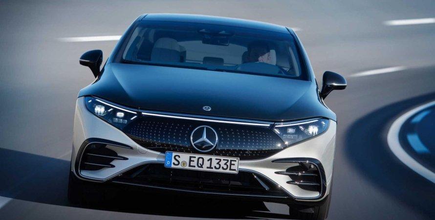 План электрификации Mercedes-Benz