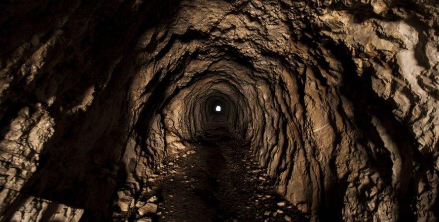 печера, тунель, світло, лавові тунелі, фото