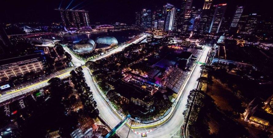 Формула-1, гран-при Сингапура