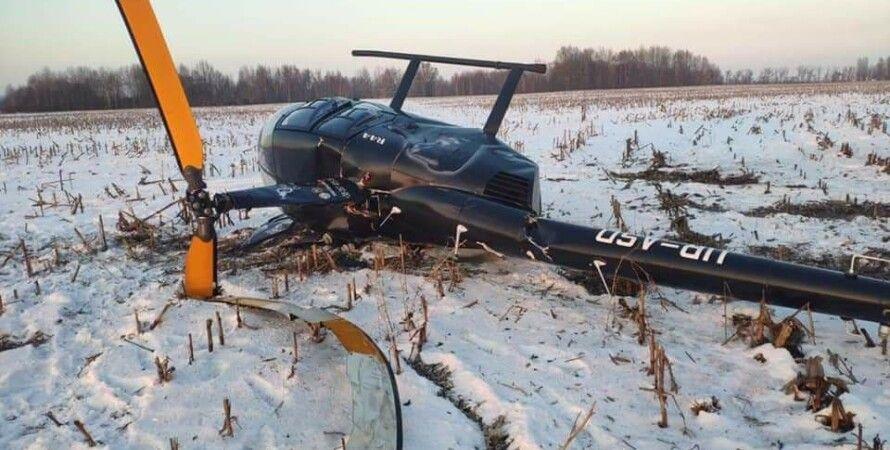 вертолет, киевская облсть, авиакатастрофа, борисполь, пилот