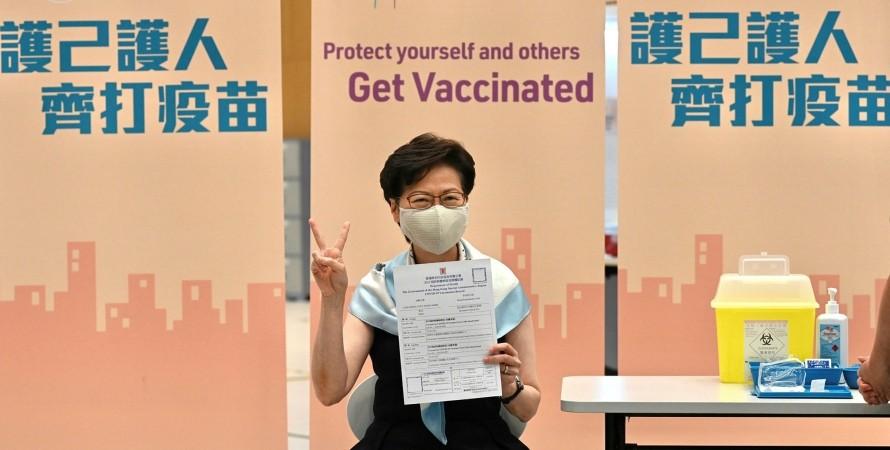 вакцинация, китай, прививка, фото