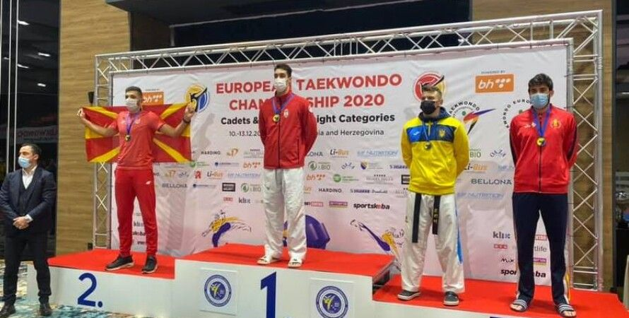 тхэквордо, Чемпионат Европы, Бронзовая медаль, Владислав Бондарь