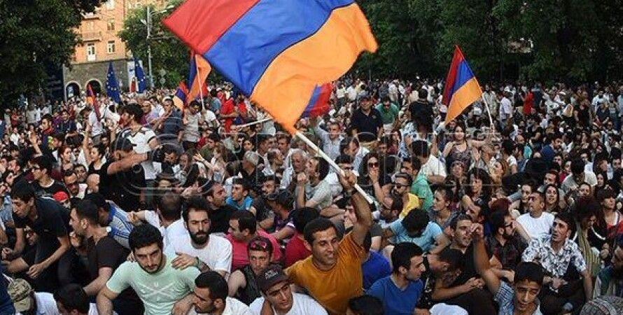 Протесты в Ереване / Фото: News.am