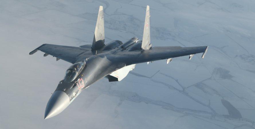 Су-35С, винищувач, рф, ВКС, небо, війна
