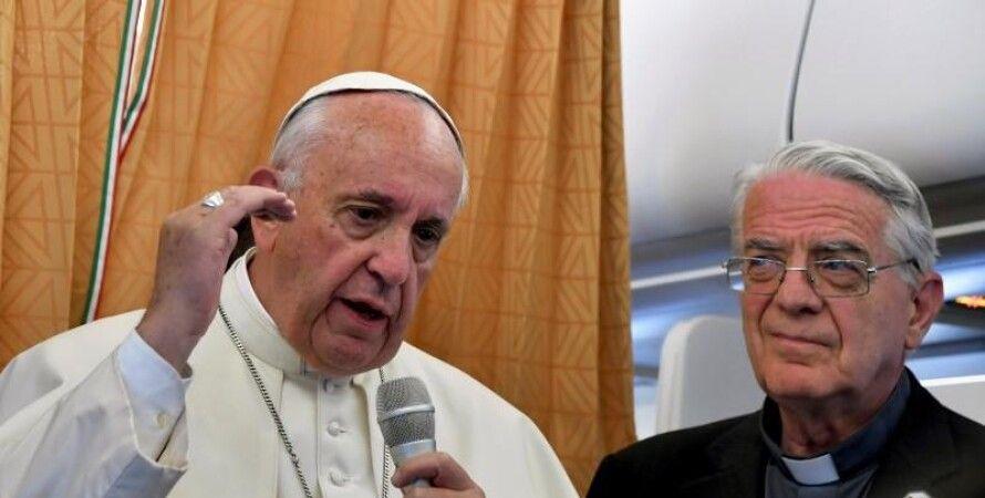 Папа Римский Франциск / Фото: Reuters/Tiziana Fabi/Pool