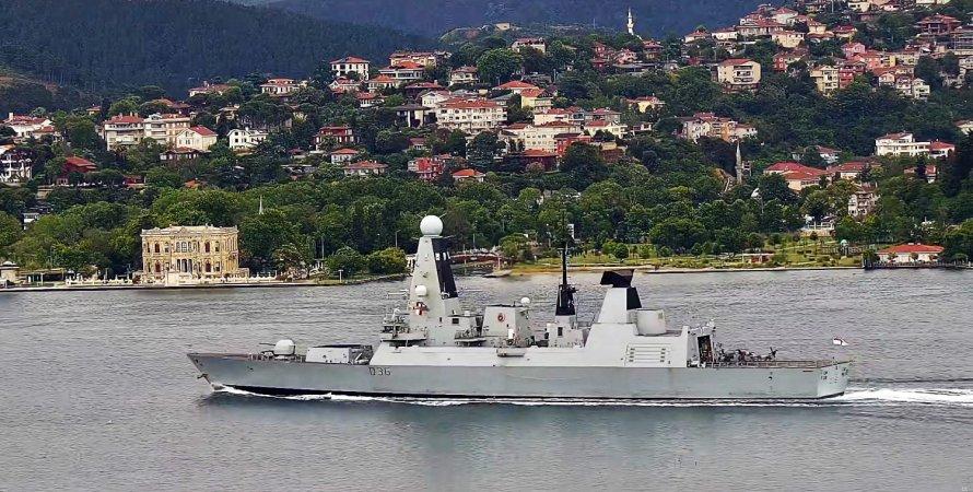 нато, чорне море, кораблі нато, есмінець, фрегат, британия, нідерланди, HNMLS Eversten F805, HMS Defender D36, вчення