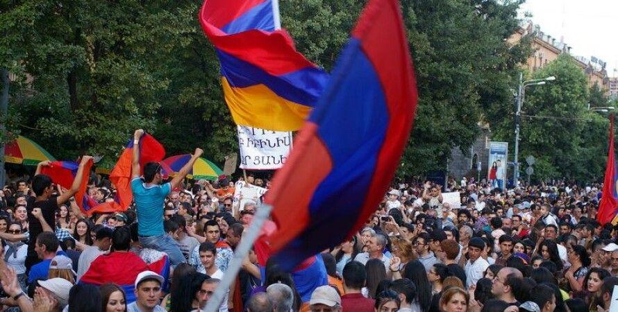 Протесты в Ереване / Фото: azatutyun.am