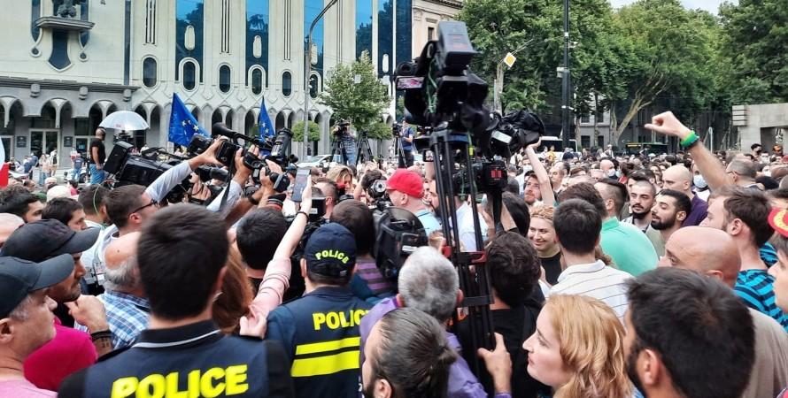 Мовчазний мітинг, Тбілісі, ЛГБТ, протест