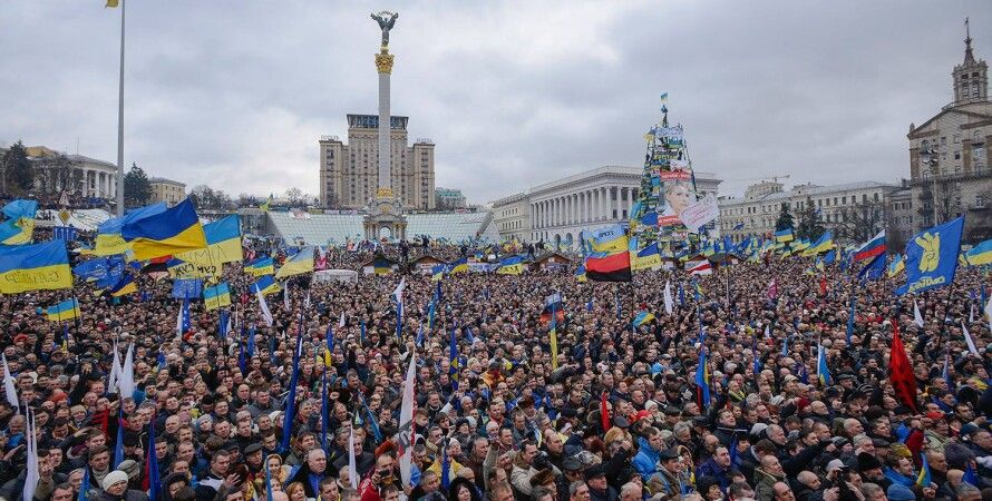 Евромайдан / Фото: yatsenyuk.org.ua