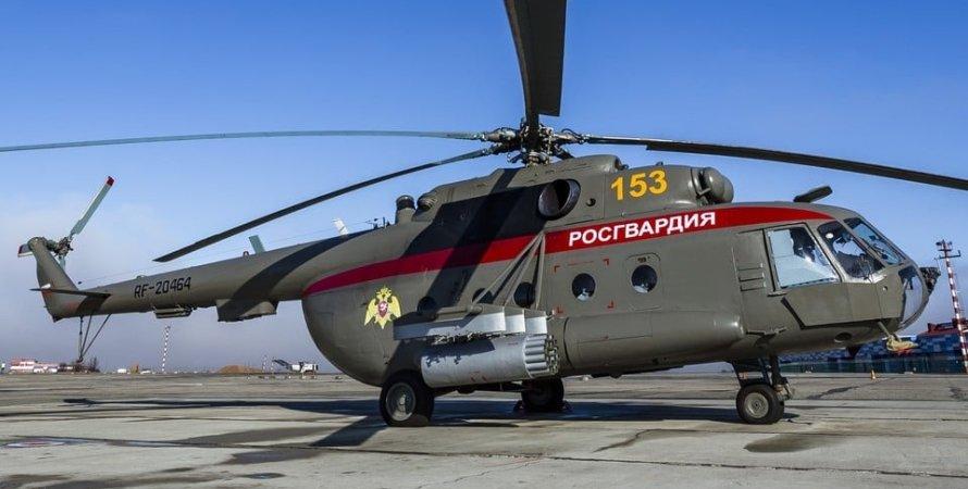 вертолеты оккупантов, ворованные вертолеты в росгвардии