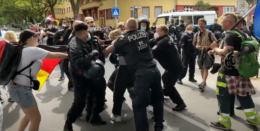 Берлін, поліція, протест