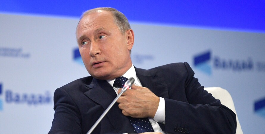 Володимир Путін, президент РФ Володимир Путін, інтерв'ю Володимира Путіна
