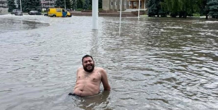 измаил, потоп, одесская область, ливень, дожди, измаил потоп, измаил затопило, наводнение в измаиле