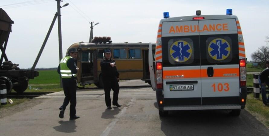 ДТП в Херсонской области / Фото: пресс-службы ГСЧС