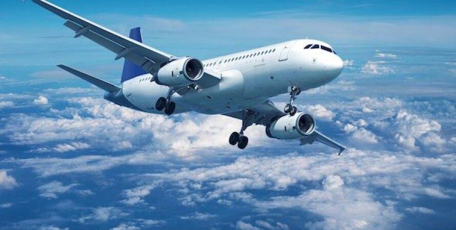 самолет, авиасообщение, полеты, великобритания, украина