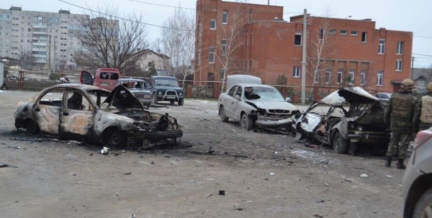 """Последствия теракта в Мариуполе / Фото: """"Громадське. ТБ"""""""