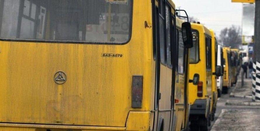 Маршрутное такси в Харькове / Фото из открытого источника